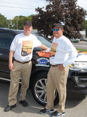 """Rick Brownell and Rob Doyle are participating as Team #4, Distinctly Dutchess, in the tenth season of """"Fireball Run,"""" a 26-episode adventure-travel competition series distributed by Amazon Instant Video."""