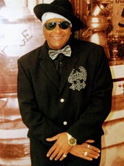 Soul and blues singer Uncle Fallay, aka Chris Adrus,