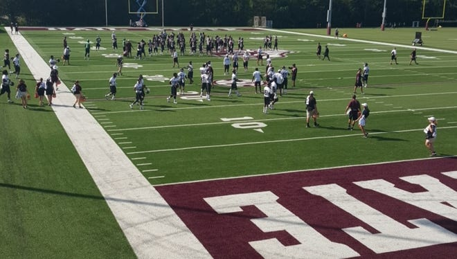 Mississippi State opened practice on Monday.