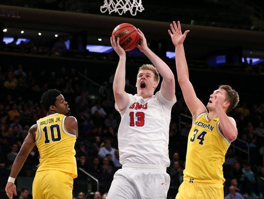 NCAA Basketball: 2K Classic-Michigan vs Southern Methodist
