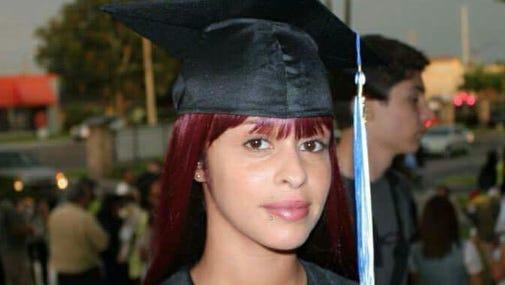 Jessica Erausquin, killed in Cocoa Beach in 2014, at her graduation. Photo courtesy of the Erausquin family