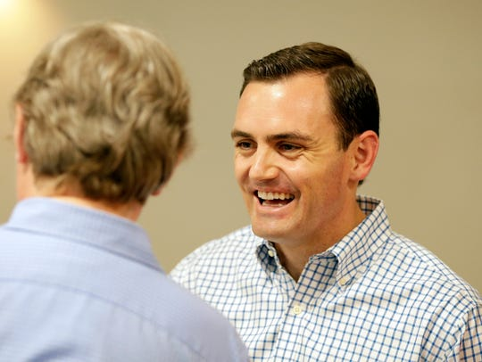 Mike Gallagher, Republican candidate for the 8th Congressional