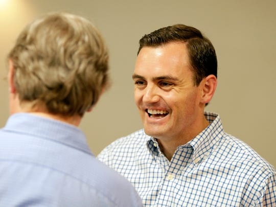 Mike Gallagher, Republican candidate for the 8th Congressional District