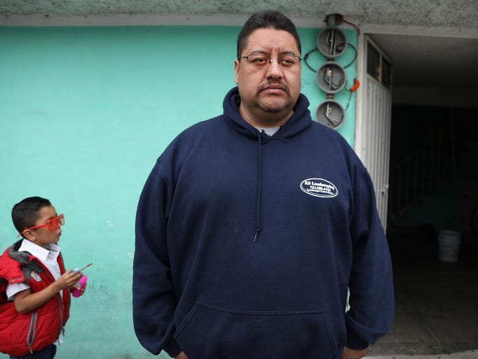 Jorge Garcia was deported recently from Detroit on