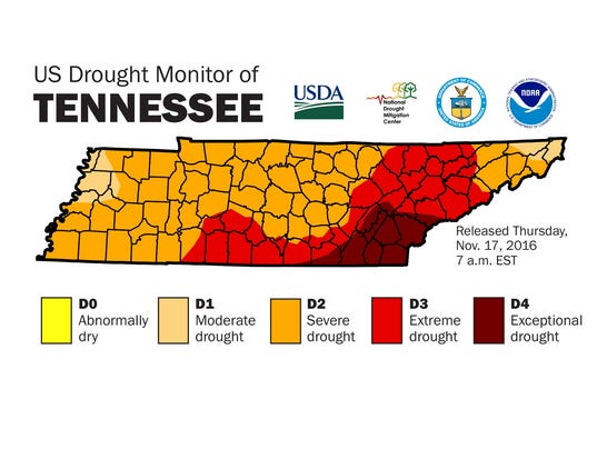Knox County Now In 39extreme Drought39