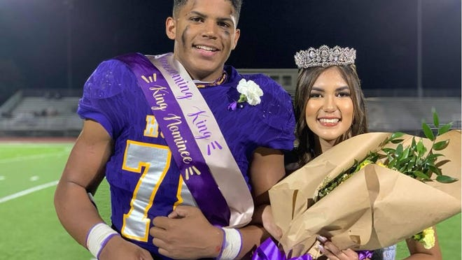 Marcus Morelan was crowned Early High School Homecoming King, and Dey DeLeon was crowned Homecoming Queen Friday night at Longhorn Stadium.