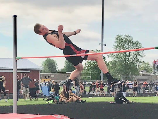 Mansfield Christian's freshman high jumper Seth Stoner rides conference, district and regional titles into the state meet.