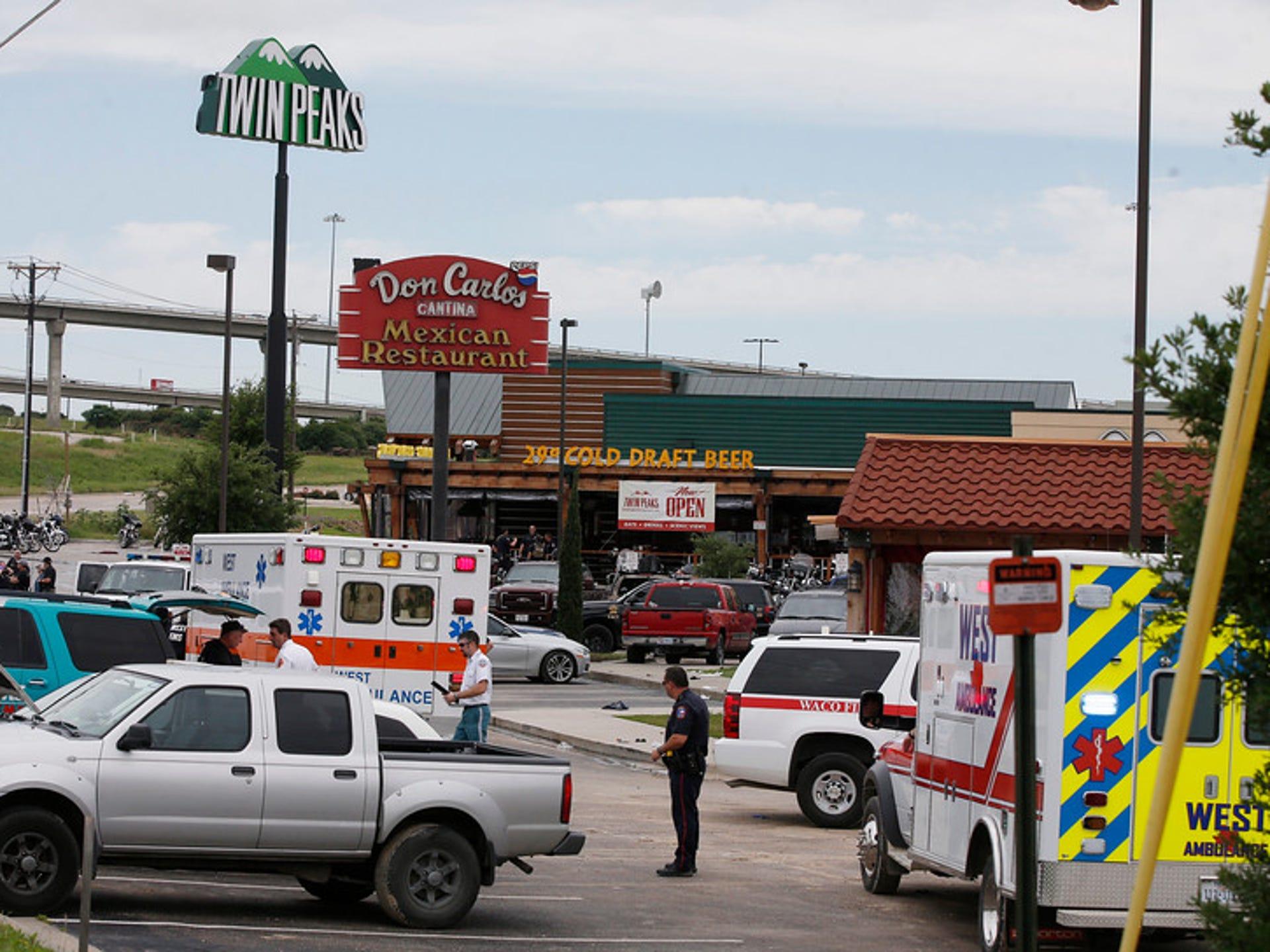 Multiple victims in Waco, Texas biker gang shooting