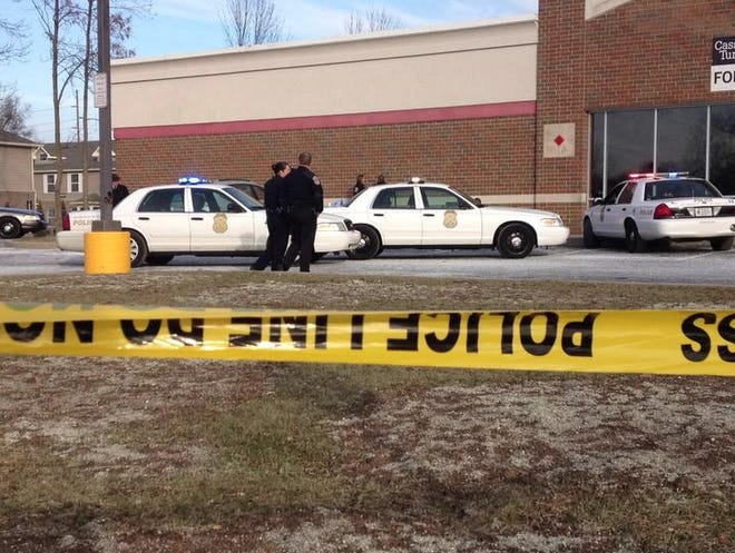 Police responded to reports of two people shot on the Far Southside of Indianapolis Tuesday.