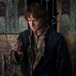 """Martin Freeman appears in a scene from """"The Hobbit: The Battle of the Five Armies."""""""