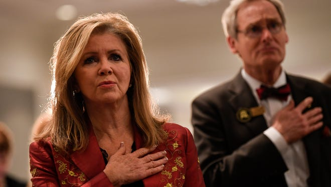 U.S. Rep. Marsha Blackburn is giving up her 7th Congressional District seat to run for Senate. Three candidates are running to replace her.