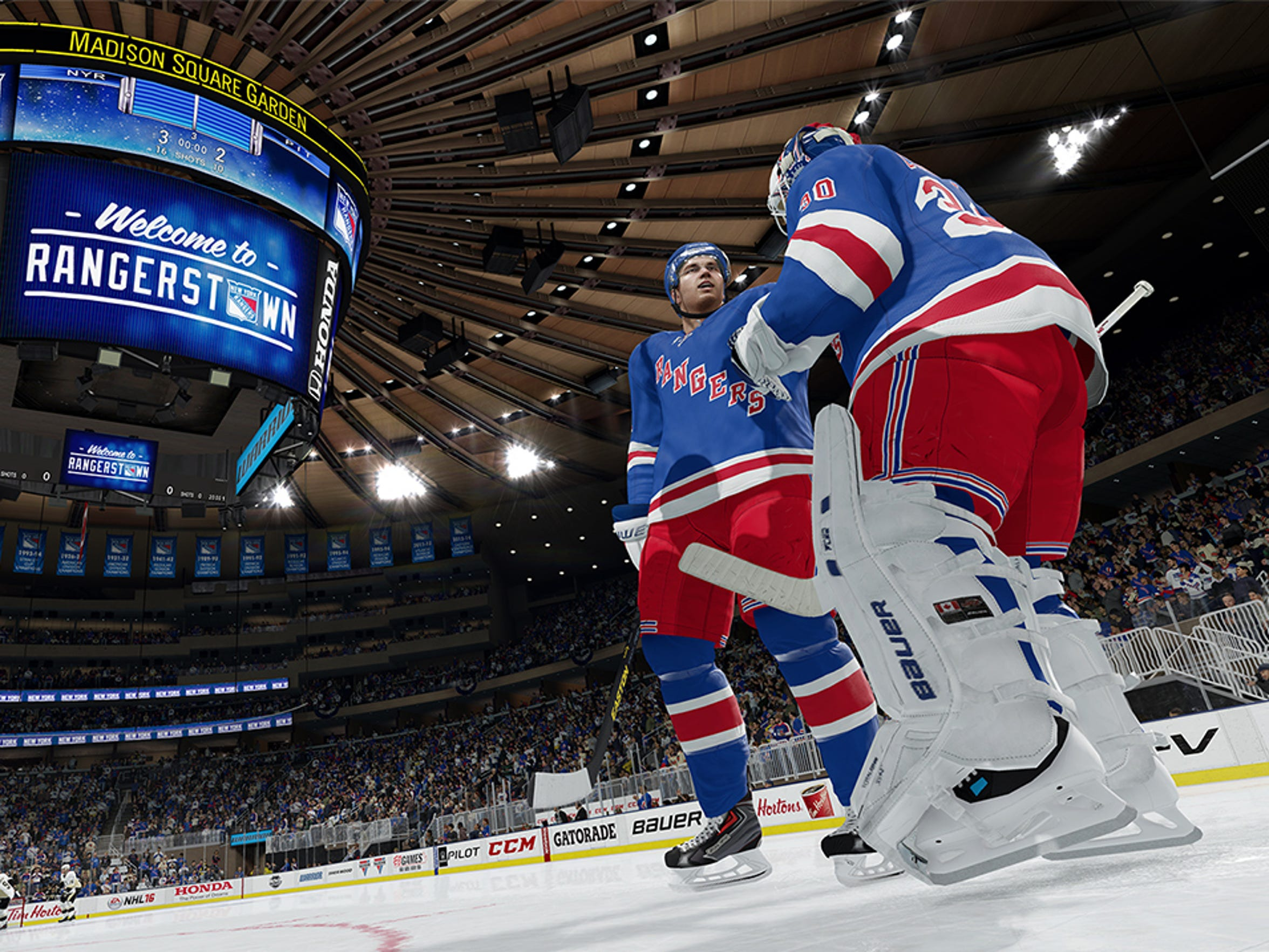 NHL 16 makes a comeback on the ice, adding modes that were missing from last year's game.