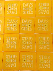 These are tags provided by the nonprofit Days for Girls