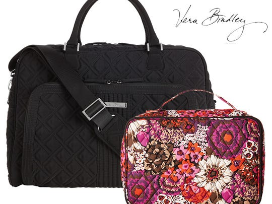 Vera Bradley bags in several patterns availabel at Caroline and Company.