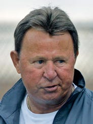 Former Cub Ron Santo died in 2010.