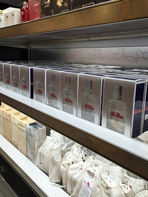 Ole Miss cologne is in stock at Belk's department stores in Mississippi.