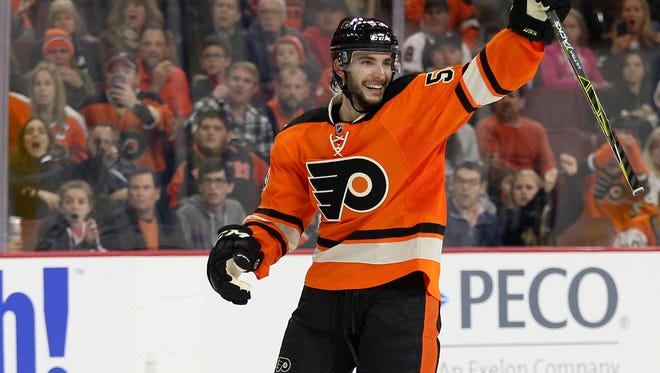 Shayne Gostisbehere is the first Flyers rookie to have two overtime winners in the same season.