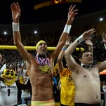 Michael Phelps was on hand to see Arizona State beat