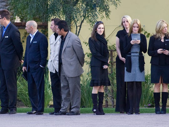 The staff of the Intercontinental Montelucia Resort