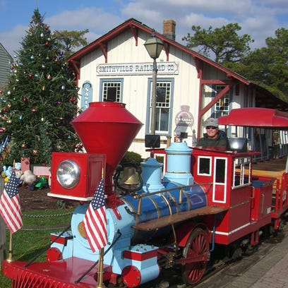 During December, Smithville in Atlantic County transforms