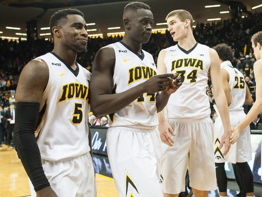 NCAA Basketball: Minnesota at Iowa