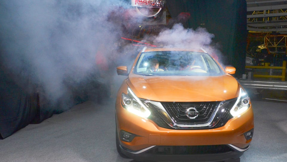 The crossover Nissan Murano, made in Canton, saw its