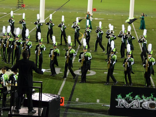 West Salem marching band win Sunset Classic