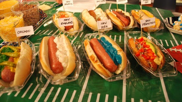 Hot dog topping tips from Tim Laird.