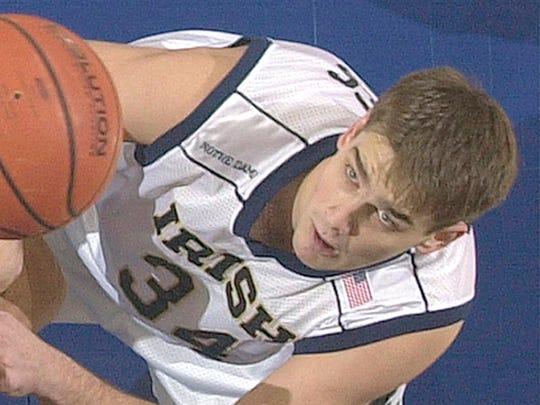Notre Dame's David Graves in 2002.