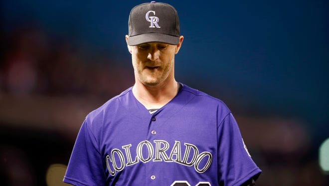 Kyle Kendrick's season with the Colorado Rockies hasn't gone exactly according to plan.