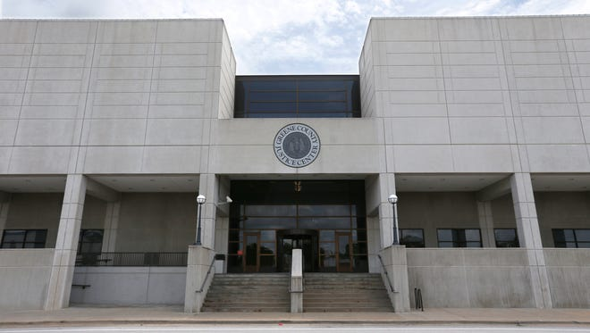 The Greene County Justice Center.