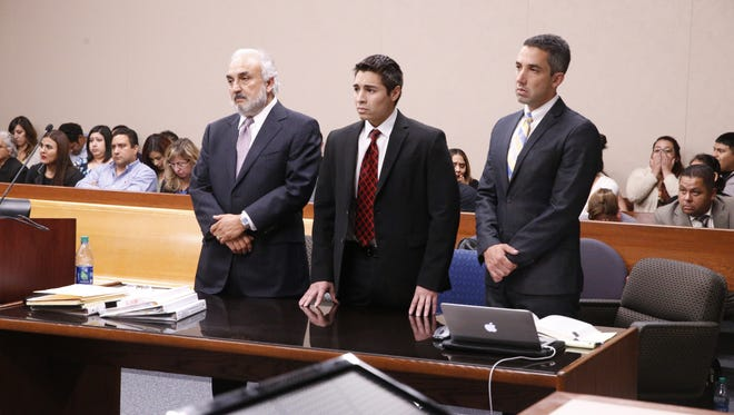 Alberto Antonio Mendiola was acquitted of murder but was convicted of manslaughter Tuesday in the slaying of Anthony Bowler, 30, on March 22, 2014.