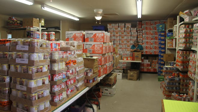 Packs for Hunger feeds more than 100 children in Carlsbad and Loving a week. Children are referred by their schools.