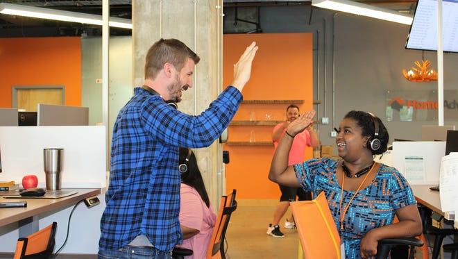HomeAdvisor employees thrive on teamwork and empowerment.