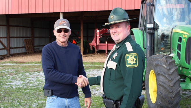 Robertson County Sheriff's Office Chief Deputy Michael Van Dyke worked closely with area farmers and producers to develop the new Farm Watch initiative.