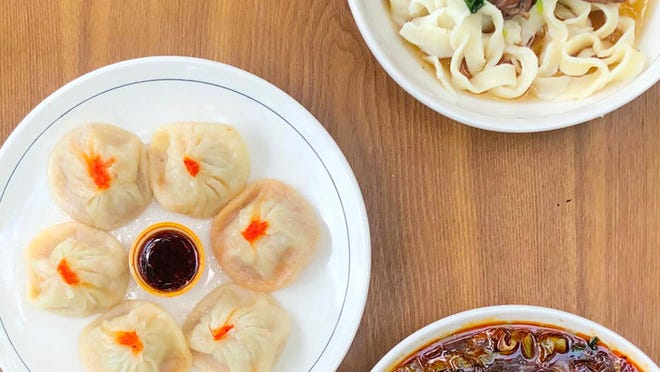 If you can't make your own dumplings and noodles, don't worry, Julie's Noodles can make them for you.