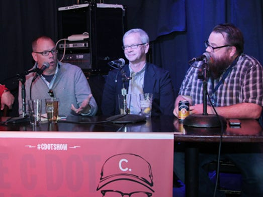 Reds beat writers C. Trent Rosecrans and John Fay join Cardinals reporter Derrick Goold and comedian Josh Sneed on the C Dot Show.