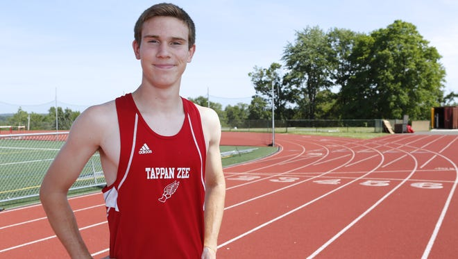 Tappan Zee junior Luke Gavigan is The Journal News Rockland boys outdoor track and field athlete of the year.
