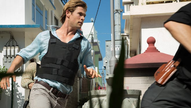 Chris Hemsworth plays brilliant hacker Nicholas Hathaway in Michael Mann's 'Blackhat.'