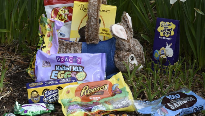 An entire basket of Easter candy could contain enough sugar to set you back weeks.