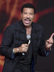 Singer-songwriter Lionel Richie is among the legends