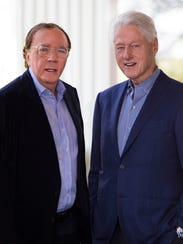 James Patterson and former President Bill Clinton,