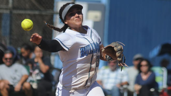 Buena's Kiara Delgado was named Most Valuable Player of the All-Channel League softball team.