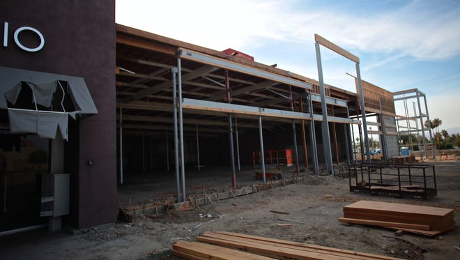 The building Fresh Market started renovations before deciding it wouldn't open a Palm Desert store.