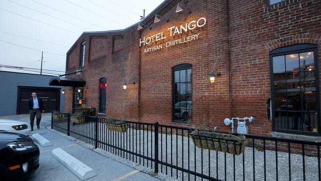 Hotel Tango Artisan Distillery at 702 Virginia Ave. Hotel Tango along with Repeal close business hours at 10 p.m. These business are in the historic district boundaries and are close to residential homes.