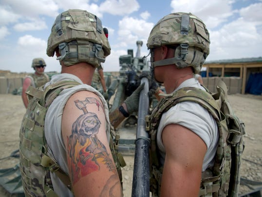 Army updates rules for tattoos hair for National guard tattoo policy