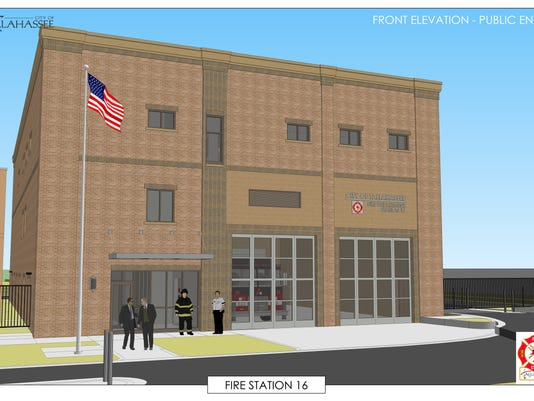 Fire Station 16 rendering