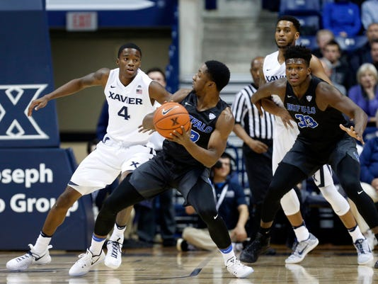 NCAA Basketball: Buffalo at Xavier