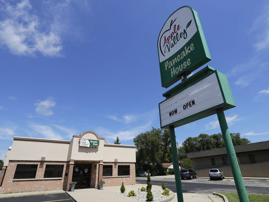 The Apple Valley Pancake House opened at 500 E. Wisconsin