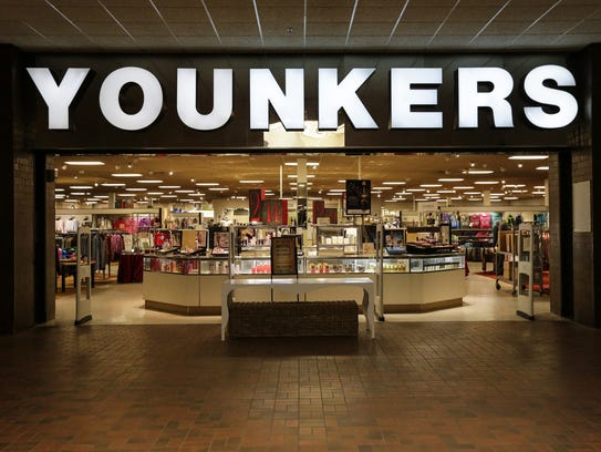 The Younkers at 700 E. Magnolia Ave. Wednesday in Manitowoc.